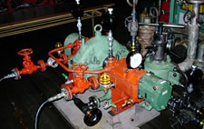single stage back pressure steam turbine