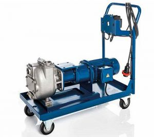 victor pump 4 wheeled trolley for flat ground